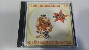 LOS-INHUMANOS-25-ANOS-HACIENDO-EL-IMBECIL-DVD-PROMOCIONAL-SPANISH-EDITION-UNICO