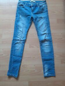 Pantalones Tejano Bershka Talla 38 Ebay