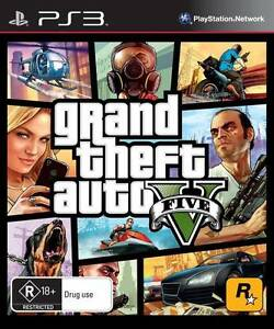 Details about Grand Theft Auto GTA V (Five 5) Game PS3 Sony PlayStation 3  PS3 Brand New