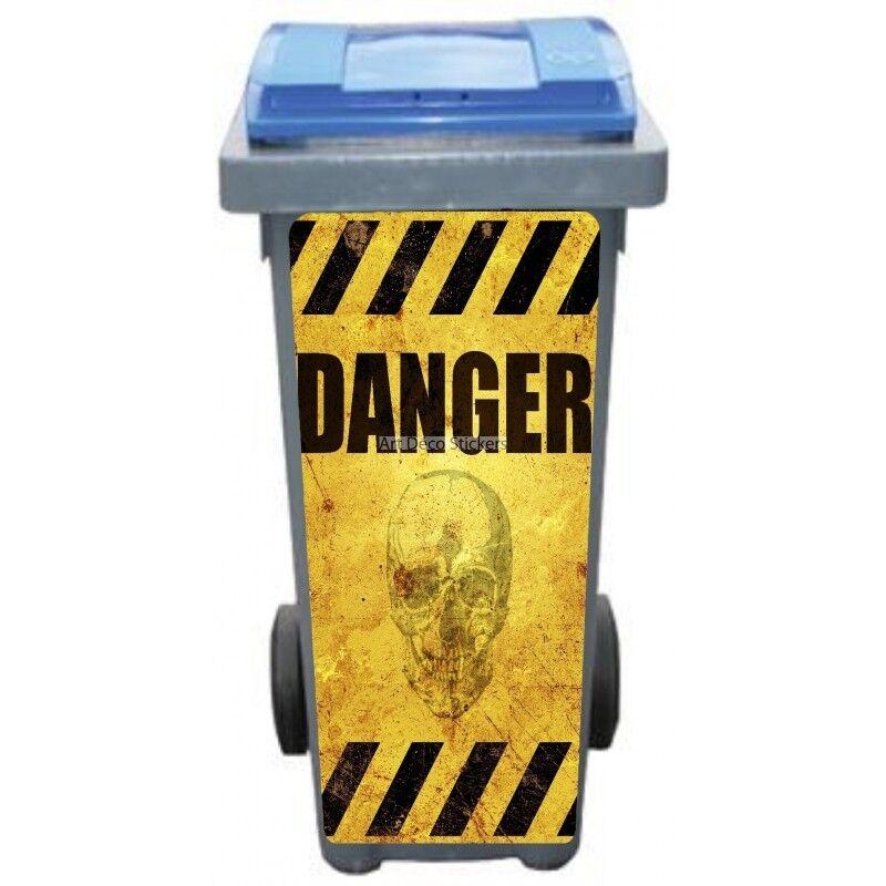 Adesivi Cassonetto Decocrazione Danger 3206