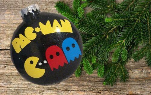 Pac-man Christmas Ornament custom