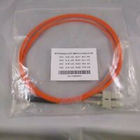 Fiber Optic Cable Mtrj (female) -sc/pc, Mm 62.5, 2.0mm, Dx,1m, 2m Or 3m