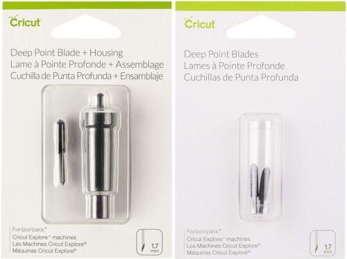 Cricut Deep Point Blade /& Housing for Cricut Maker /& Explore Replacement Blades