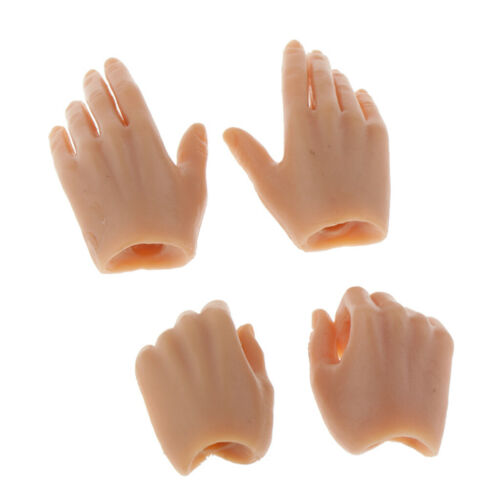 """2pairs 1//6 Female Hands Model for 12/"""" Hot Toys Phicen Figure Body Accessory"""