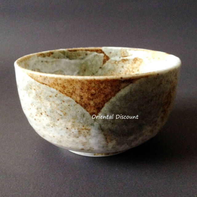 """Japanese 5""""D Matcha Cup Bowl Yukishino Tea Ceremony, Authentic Made in Japan"""