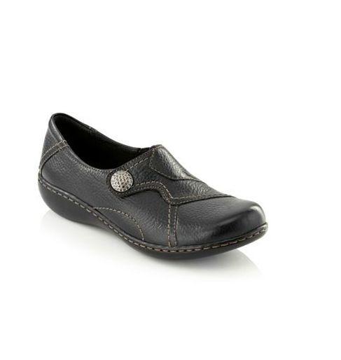 Nuevo En Caja Para Para Para Mujeres Clarks ®  Ashland Bend  Informal Zapato Negro Marrón Azul Marino 6 61c168