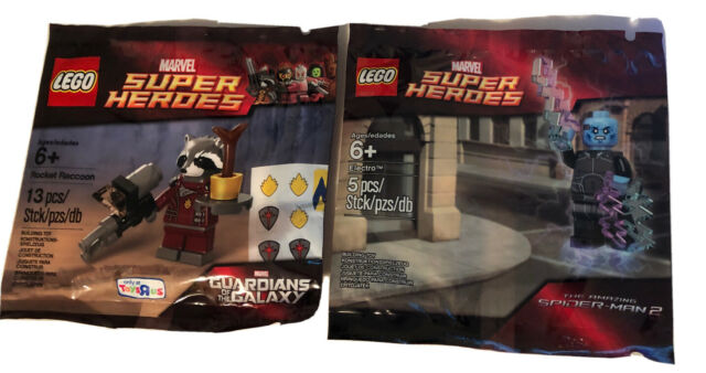 Lego marvel super heroes 5002125 electro in factory sealed polybag