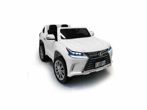 AUTO-MACCHINA-ELETTRICA-Lexus-SUV-12v-2-POSTI-CON-TV-PRODOTTO-LICENZIATO