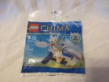 NEW LOT of 10 Lego Bags Legends of Chima Ewar/'s Acro Fighter # 30250 Party Favor