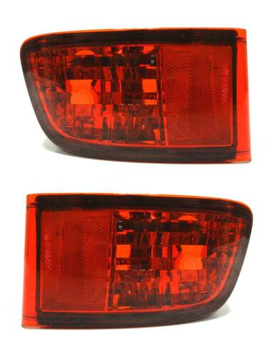TOYOTA LandCruiser HDJ KDJ 120 rear tail bumper Left+Right  fog lights