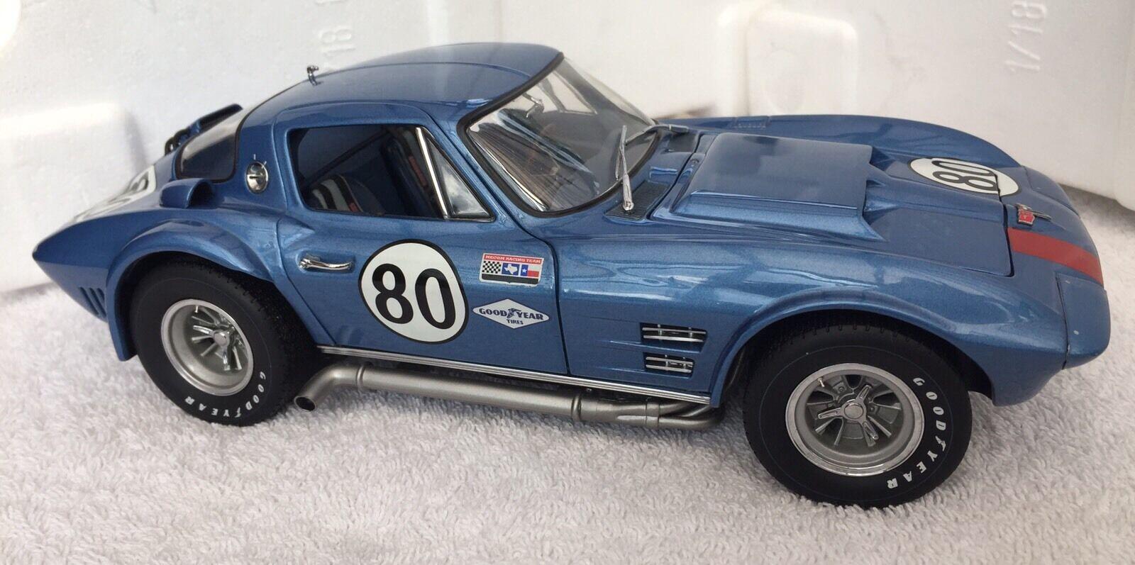 Exoto Racing Legends 1 18 Corvette Grand Sport Metallic bluee