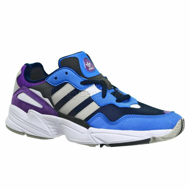 calibre Individualidad cobre  Size 9.5 - adidas Yung-96 Blue Purple for sale online | eBay