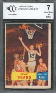Kenny-Sears-Rookie-Card-1957-58-Topps-7-New-York-Knicks-BGS-BCCG-7