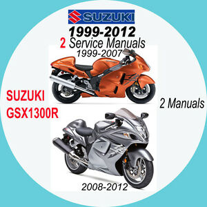 suzuki gsx1300r service manual 99 12 hayabusa 2 manuals on cd 99 rh ebay co uk 2011 Hayabusa 2015 Hayabusa