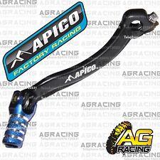 Apico Pedal Palanca De Cambio De Engranaje Azul Negro Para Yamaha YZF 450 2014 Motocross Enduro