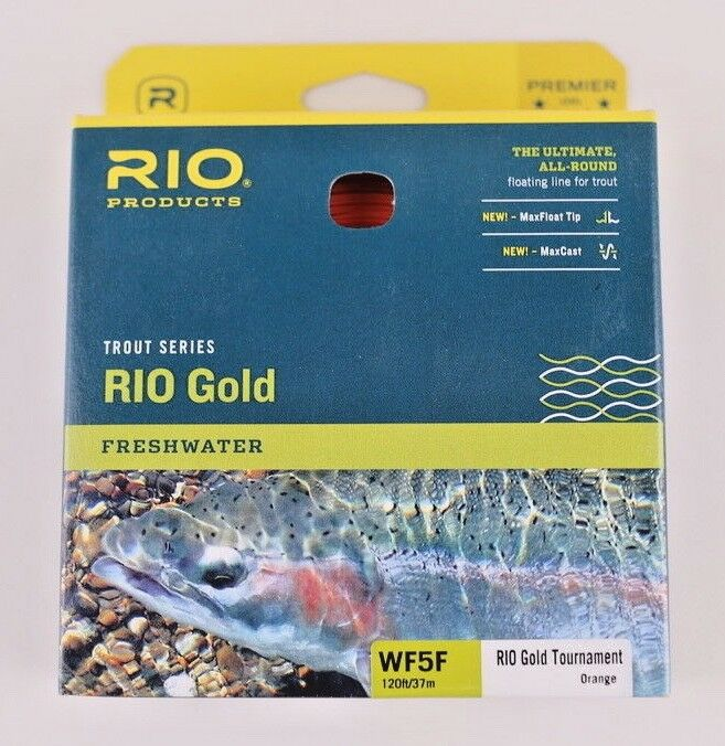 Rio Gold Tournament Fly Line WF5F Orange Free Fast Shipping 6-21796