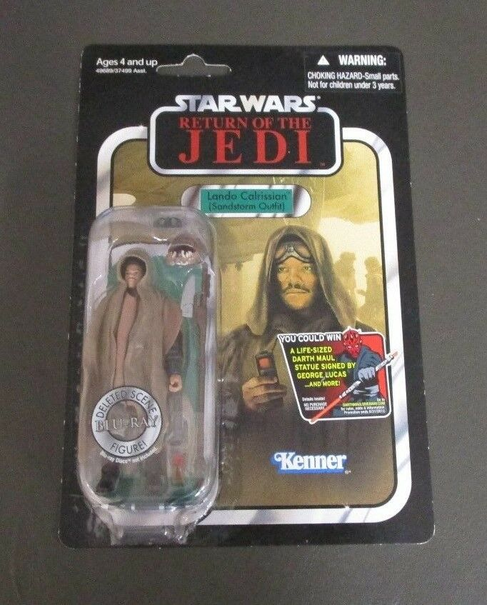 Lando Calrissian Sandstorm outfit 2012 STAR WARS Collection Vintage VC89 Comme neuf on Card