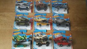 Hot-Wheels-1-64-Die-Cast-Metal-Cars-Choose-Yours