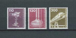 "BERLIN - 1982 YT 629 à 631 - NEUFS** MNH LUXE - France - Commentaires du vendeur : ""NEUF / MNH / POSTFRISCH LUXE"" - France"