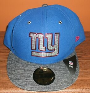 NY Giants Blue New Era NFL 2016 Sideline Official 59FIFTY Fitted Hat Cap