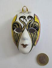 Kleine Maske im venezianischen Stil, ca. 8,5 cm