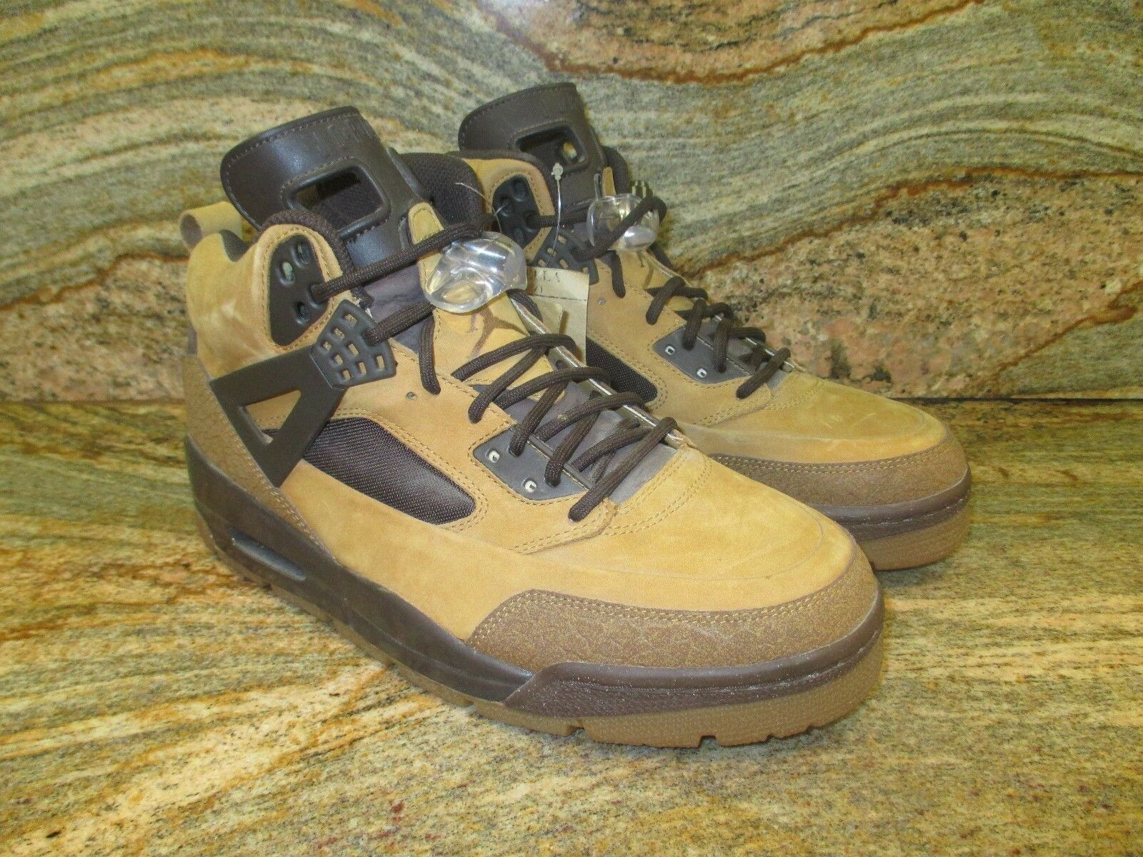 Unreleased Nike Air Jordan Spizike Sample Boot Sample Spizike SZ 9 Wheat Flax Retro PE Promo OG 585865