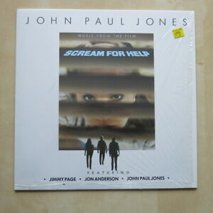 JOHN-PAUL-JONES-Scream-For-Help-German-1st-press-vinyl-LP-MINT-Jimmy-Page