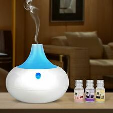 Decdeal 1000ml USB Portable Air Humidifier Aroma Essential Oil Diffuser Atomizer Ultrasonic Humidifier with 7 color LED Light Aromatherapy for Car