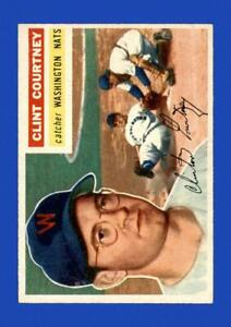 1956-Topps-Set-Break-159-Clint-Courtney-EX-EXMINT-GMCARDS