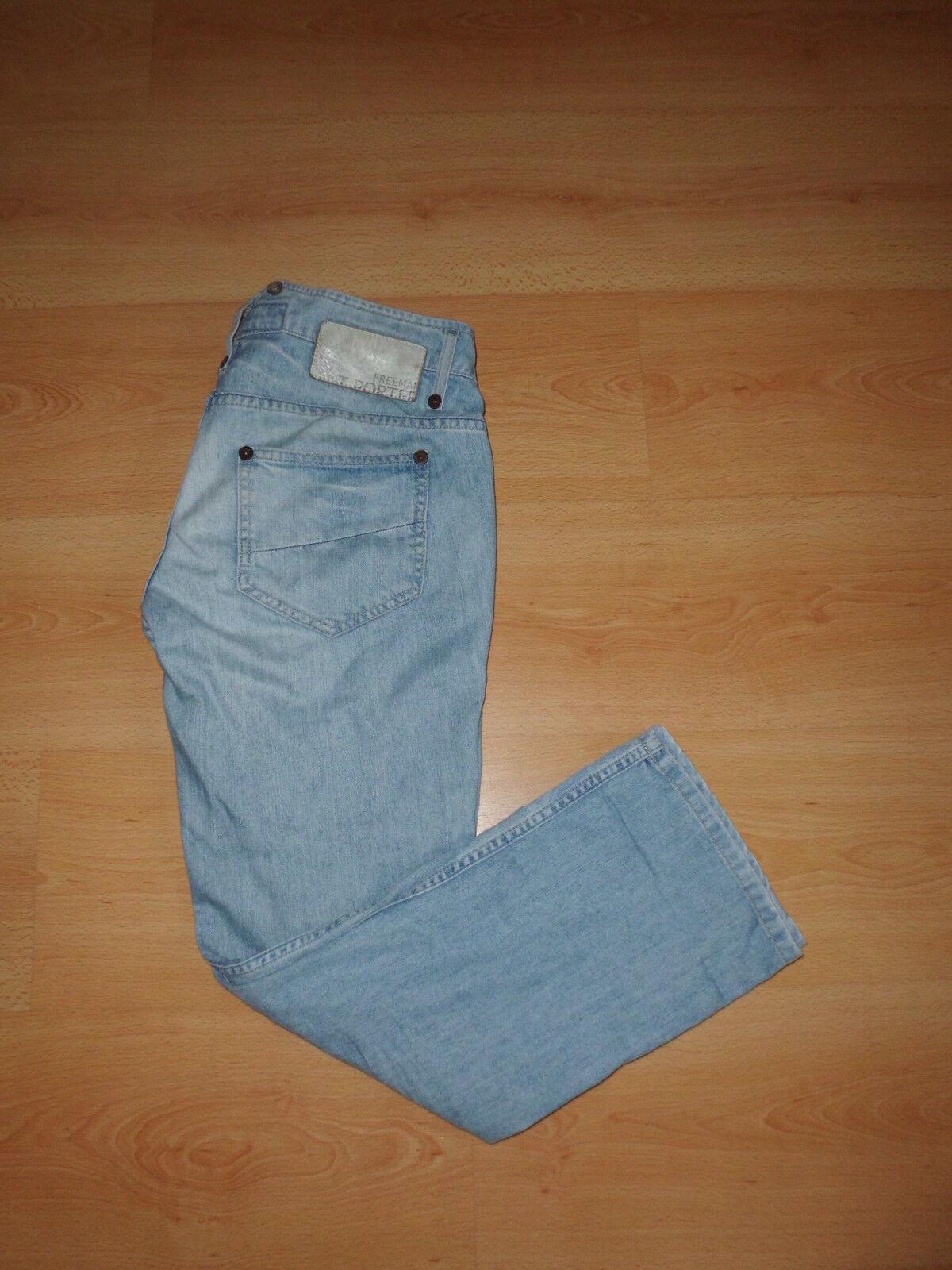 Jeans Freeman T. Porter Bonfire bluee Size 38 à - 66%