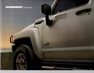 2006 Hummer H3 Original Brochure Poster  Prospekt