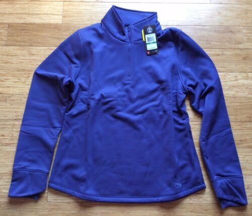 NWT Under Armour Womens Delma fleece Shirt ColdGear® top sweatshirt fleece zip