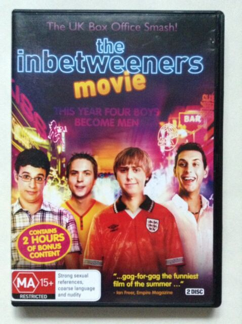 The Inbetweeners Movie (DVD, 2014)