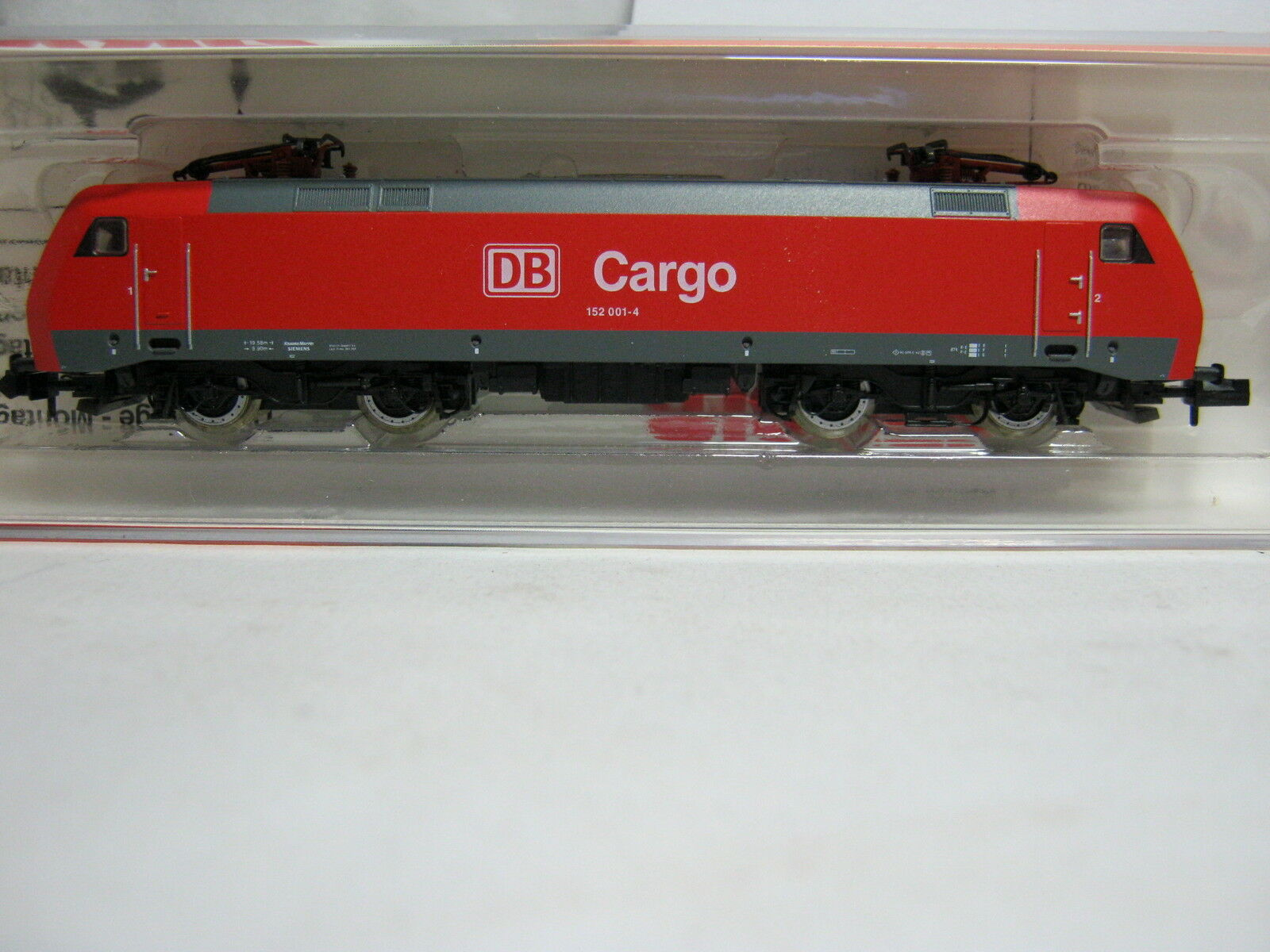 Arnold N 2499 e Lok BR 152 DB Cargo rosso  rg/br/85s2