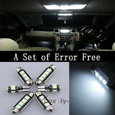 Error Free White Led Interior Bulb Light Package Kit For VW Jetta MK6 11-12 Y1