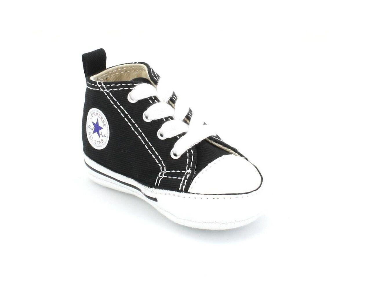 3230732d369d Converse - First Star Hi Black white 8j231 Chuck Taylor Shoes Black ...