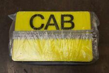 "Yellow taxi interior licence plate light box ""rape light"""