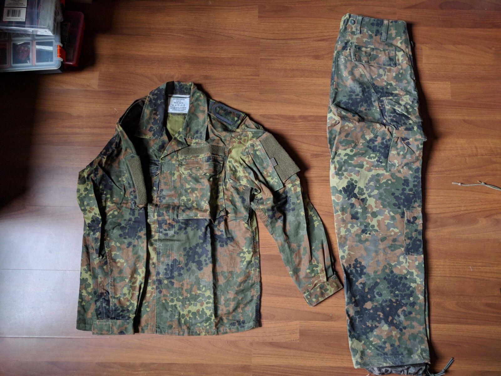 Leo Kohler shirt + MilTec pants Flecktarn Dimensione Small