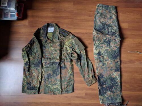 Leo Kohler shirt + MilTec pants Flecktarn size Small