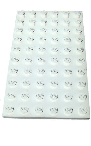 LEGO 2 pièces plaques 6x10 en blanc 3033 nouveau blanc plaque Basics City