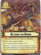 Warhammer 40000 Conquest LCG - Kettenaxt des Khorne  #061 - Tödliche Fracht