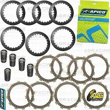 Apico Clutch Kit Steel Friction Plates & Springs For Honda CRF 250R 2010-2017 MX