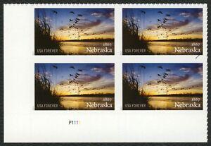 5179-Nebraska-Statehood-Plate-Block-LL-Mint-ANY-4-FREE-SHIPPING