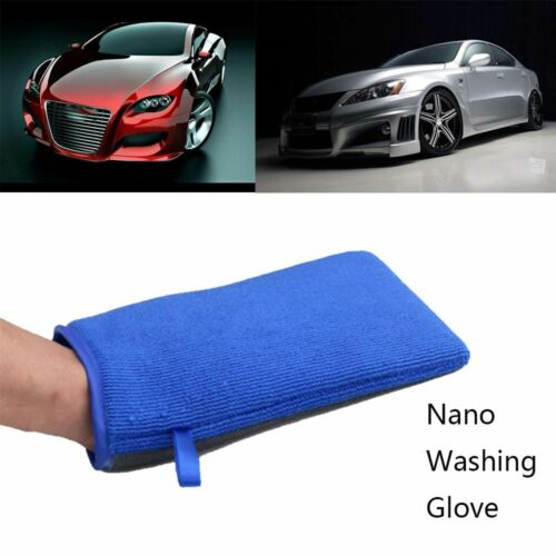 New Car Wash Magic Clay Mitt Auto Care Cleaning Towel Microfiber Sponge Pad