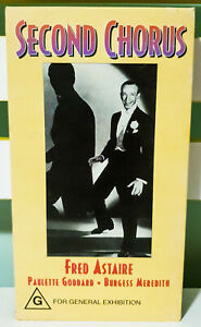 Second-Chorus-Featuring-Fred-Astaire-Vintage-VHS-Video-Cassette-Tape