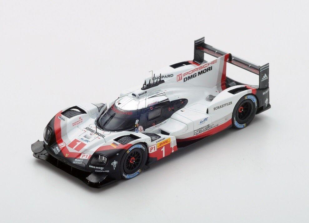 Mejor precio Porsche 919 Hybrid Hybrid Hybrid  1 Jani-Lotterer-Tandy  3rd Fuji  2017 (Spark 1 43   SJ055)  te hará satisfecho
