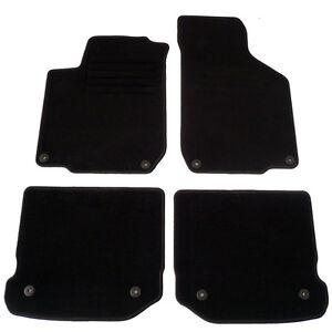 4 Tapis Sol Moquette Noire Specifique Vw Golf 4 Gti Tdi Gtd R32 Sdi