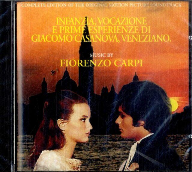 INFANZIA VOCAZIONE PRIME ESPERIENZE DI CASANOVA OST (Fiorenzo Carpi) CD SEALED