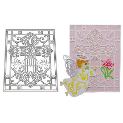 Butterfly Girl Cutting Dies Stencil Scrapbook Album Card Embossing Template Re