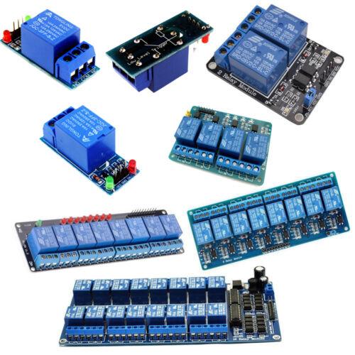 5 12V 24V 1 ~ 16-Canal Módulo de relé Junta Shield para PIC AVR DSP ARM MCU Arduino